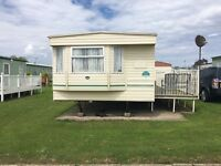6 berth static caravan for rent in Thornwick Bay, Flamborough