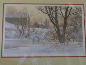"""D.R. Laird """"Next Goal Wins"""" Limited 1397/1950 Signed by Artist Kitchener / Waterloo Kitchener Area image 2"""