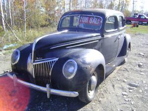 Barn Find !!! All original 1939 Ford