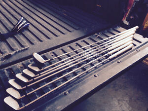 Wilson fat shafts with 3 Wood and 3 hybrid