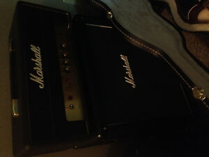 Gibson sg 61 reissue with Marshall class 5 tube amp stack