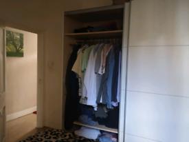 Big white wardrobe