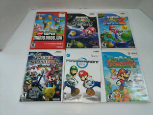 Nintendo Wii Games (Price in description)