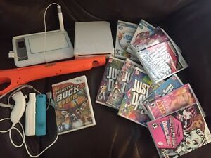 Nintendo Wii with 12 games