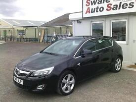 2010 VAUXHALL ASTRA SRI 1.6L ONLY 41,802 MILES, FULL SERVICE HISTORY