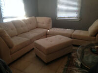 Sofa set to sale now! - Enssemble de salon a vendre vite!