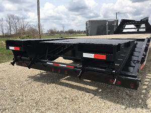 102x20 Plus 5 ft Beavertail Sure Trac Gooseneck Trailer Kitchener / Waterloo Kitchener Area image 2