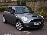 MiFINANCE AVAILABLE!!! 2007 MINI HATCH 1.6 COOPER S 3dr, HALF LEATHER, PANROOF