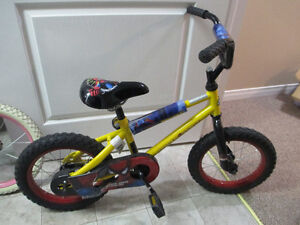 Boys Spiderman Bicycle- ages up to 5 years
