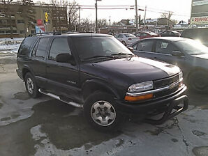 GREAT VALUE -  2002 Chevy Blazer 4 x 4