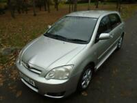Toyota Corolla 1.4 VVT-i Colour Collection. FSH. CLIMATE. ALLOYS. ISOFIX. EWx4.