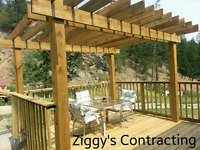 Wood fences and decks