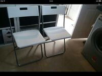 IKEA wall table and chairs