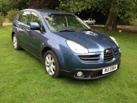 SUBARU TRIBECA 3.0 AUTOMATIC SE *7 SEATER *LEATHER *SATNAV *DVD*