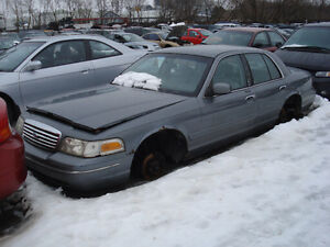1998 Ford Crown Victoria just arrived at U-Pull-It Elmira