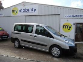 Peugeot Expert Wheelchair Scooter Accessible Disabled MPV WAV Car