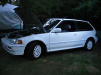 CLASSIC 1988 Honda Civic SPECIAL EDITION 5 SPEED
