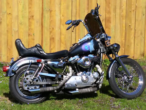 Sportster for sale.