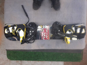Snow Jam Riot  board + sz 7 boots