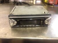Jvc CD player head unit. Stereo