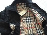 Genuine Burberry Quilted Jacket
