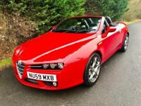2009 (59) ALFA ROMEO SPIDER 2.2 JTS SPORTS CONVERTIBLE 6 SPEED MANUAL