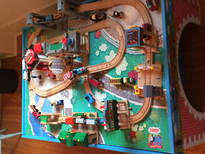 Thomas the Train Table and Accessories