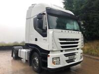 2009 59 Iveco Stralis 450 Euro 5 4x2 double sleeper cab tractor unit