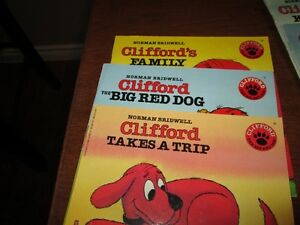 Set of Clifford the dog books (ages 5-7) Kitchener / Waterloo Kitchener Area image 2
