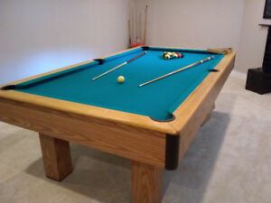 Slate Pool Table & All Accessories