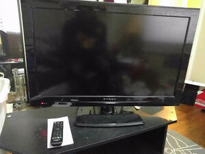 "$200 32"" dynex tv with controller."