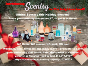 Introducing Scentsy to the Summit Park Neighbourhood.