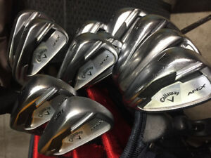 Callaway Apex Irons (lefty)