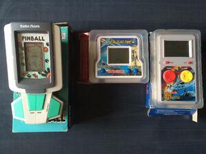 Early 1990s RadioShack Handheld LCD Games w/box