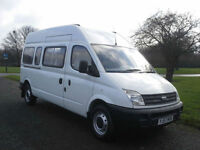 LDV Maxus 2.5 105ps 17 Seater Minibus,Transit LWB Size, 1 Owner, Free Delivery
