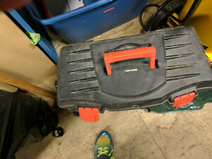 B &W small tool box barely used. Best Offer.