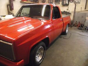 1984 chev c/10 short box