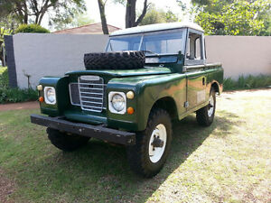 1976 Land Rover Shorty Perfect Runner