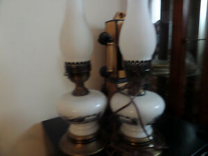 five sets victorian lamps....sold seperately