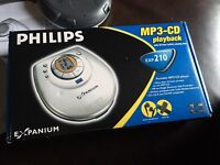 Philips MP3 cd portable cd player