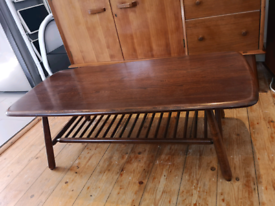 Ercol 459 Coffee Table with Magazine Rack