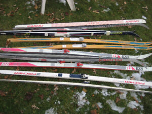 cross country skis poles boots