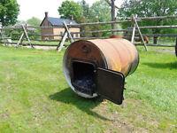 Barrel woodstove for sale