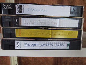 VHS video tapes (approx. 50)
