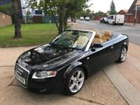 AUDI A4 3.0.TDI AUTOMATIC CONVERTIBLE. 230 BHP QUATTRO .FULLY LOADED WITH EXTRAS