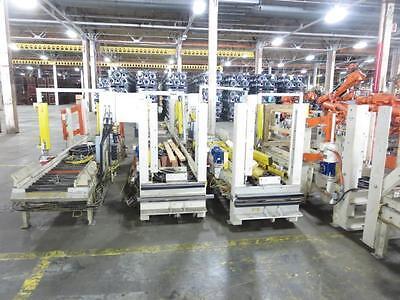 65 Feet Power Powered Conveyor 13 Feet 22 34 Roller Light Curtains Honeywell