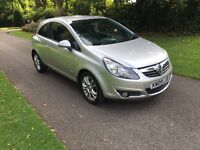 2009 09 PLATE VAUXHALL CORSA 1.3 CDTI SXI 6 SPEED MANUAL