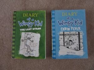 Diary of a Wimpy Kid Soft Cover Books