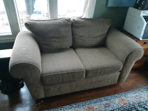Set of 2 sofas, couch, chesterfield