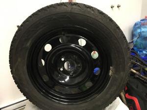 4 Winter tires & wheels  235 55/R27